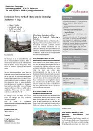 Gourmetradeln im Piemont - Rundreise ab Turin - Rad und Schiff
