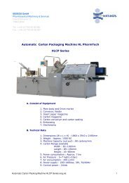 Automatic Carton Packing Machine HLCP Series eng - Ebseos Gmbh