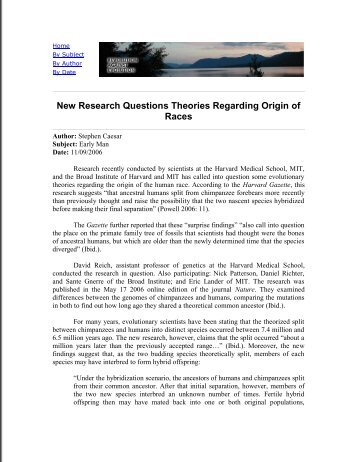 questions regarding darwins theory essay Origins archive: frequently asked questions about creationism and evolution  and their answers  (frequently asked question) files and essays have been  posted to the usenet newsgroup talkorigins  see the evolution is a fact and a  theory faq, the introduction to  didn't darwin renounce evolution on his  deathbed.