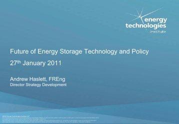 Download Andrew Haslett presentation