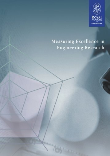 Measuring Excellence in Engineering Research - Royal Academy of ...