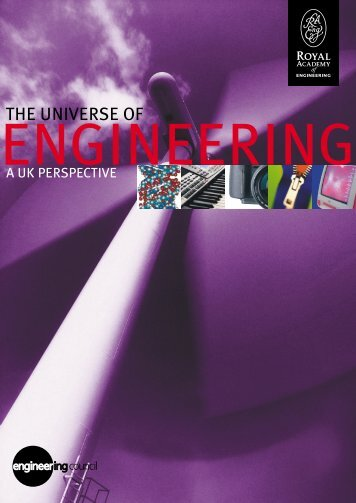 The Universe of Engineering: A UK Perspective* (550KB)