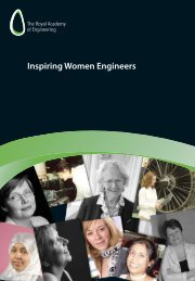 Inspiring Women Engineers - Royal Academy of Engineering
