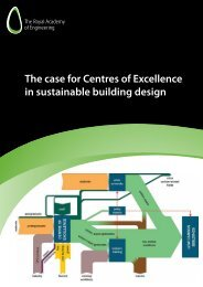 The case for Centres of Excellence in sustainable building design