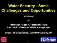 Roger Falconer - Royal Academy of Engineering