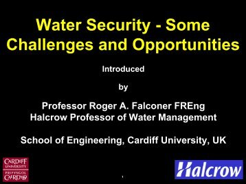 Roger Falconer - Royal Academy of Engineering