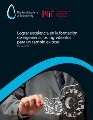 Lograr excelencia en la formación de ingeniería: los ... - SEFI