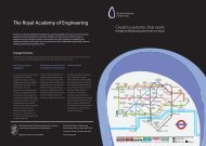 Creating systems that work - Royal Academy of Engineering