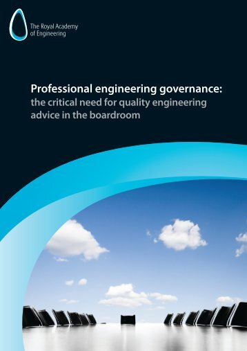 Professional engineering governance (2555KB) - Royal Academy of ...