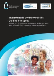 Implementing Diversity Policies: Guiding Principles A guide for ITEC ...