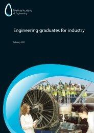 Engineering graduates for industry - Royal Academy of Engineering