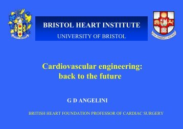 Myocardial Protection During Cardiac Surgery Seminar at the Hatter ...