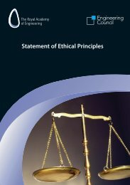 Statement of Ethical Principles - Engineering Council