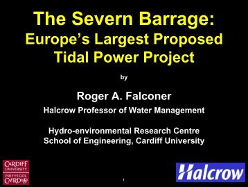 Download Professor Roger Falconer FREng presentation