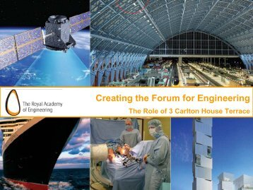 Creating the Forum for Engineering - Royal Academy of Engineering