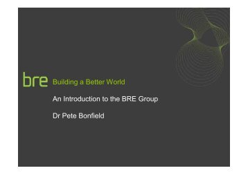 Download Dr Pete Bonfield's presentation