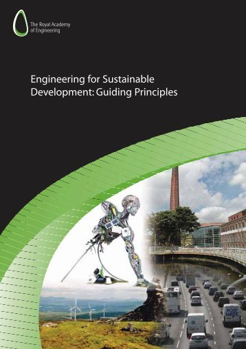 Engineering for Sustainable Development: Guiding Principles