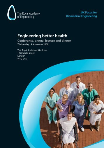 Engineering better health alt 4 page - Royal Academy of Engineering