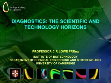 Download Professor Chris Lowe's presentation