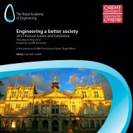 Download invitation - Royal Academy of Engineering