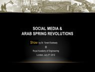 Download Dr Tarek Elabbady presentation - Royal Academy of ...
