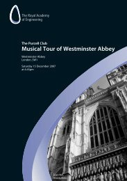 Download flyer for more information (150KB) - Royal Academy of ...