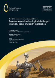 Engineering and technological challenges in robotic space and ...
