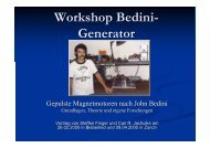 Workshop Bedini-Generator (PDF Format)