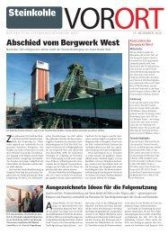 Steinkohle VORORT - RAG Deutsche Steinkohle AG