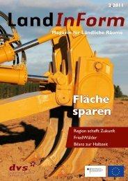 Fläche sparen - RAG Gotha-Ilm-Kreis-Erfurt