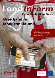 Breitband für ländliche Räume - leader