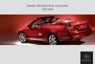 Genuine Mercedes-Benz Accessories CLK-Class - ragtop.org