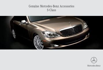 Genuine accessories for the e class mercedes benz canada for Mercedes benz e class accessories