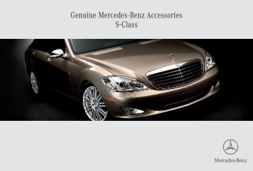 Genuine Mercedes-Benz Accessories S-Class - ragtop.org