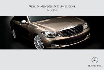 Genuine Mercedes-Benz Accessories S-Class - ragtop.org