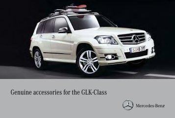 Genuine accessories for the GLK-Class - Mercedes-Benz Canada
