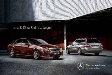 E-Class Sedan & Wagon - ragtop.org