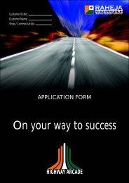 Application Form - Raheja Developers