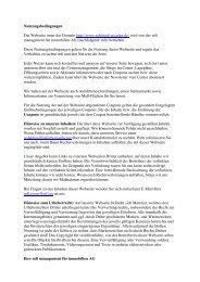Nutzungsbedingungen PDF - Rahlstedt Arcaden