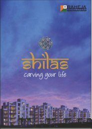 Shilas Brochure Web - Raheja Developers