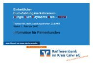 Präsentation der S€PA-Firmenkundenveranstaltung (PDF)