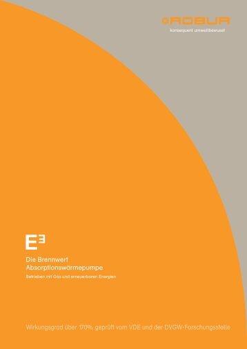 Katalog der E3 Produkte als PDF