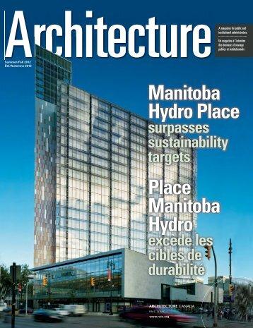 Manitoba Hydro Place Place Manitoba Hydro - Royal Architectural ...