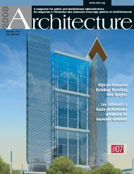 Les bâtiments à haute performance atteignent de nouveaux sommets