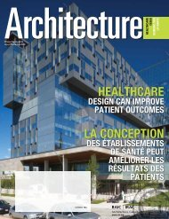 Justice Architecture - Royal Architectural Institute of Canada