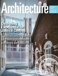 Designing Excellence for Justice Centres L'excellence dans la ...