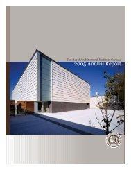 RAIC - 2005 Annual Report - Royal Architectural Institute of Canada