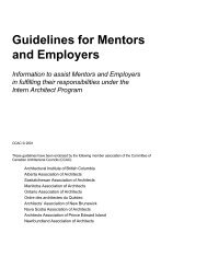 Guidelines for Mentors and Employers