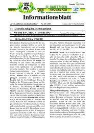 Ausgabe 20/2009 (Oktober) - Raiffeisen Emsland-Süd