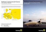 Raiffeisen-Leasing Aircraft Finance - Raiffeisen Leasing GmbH